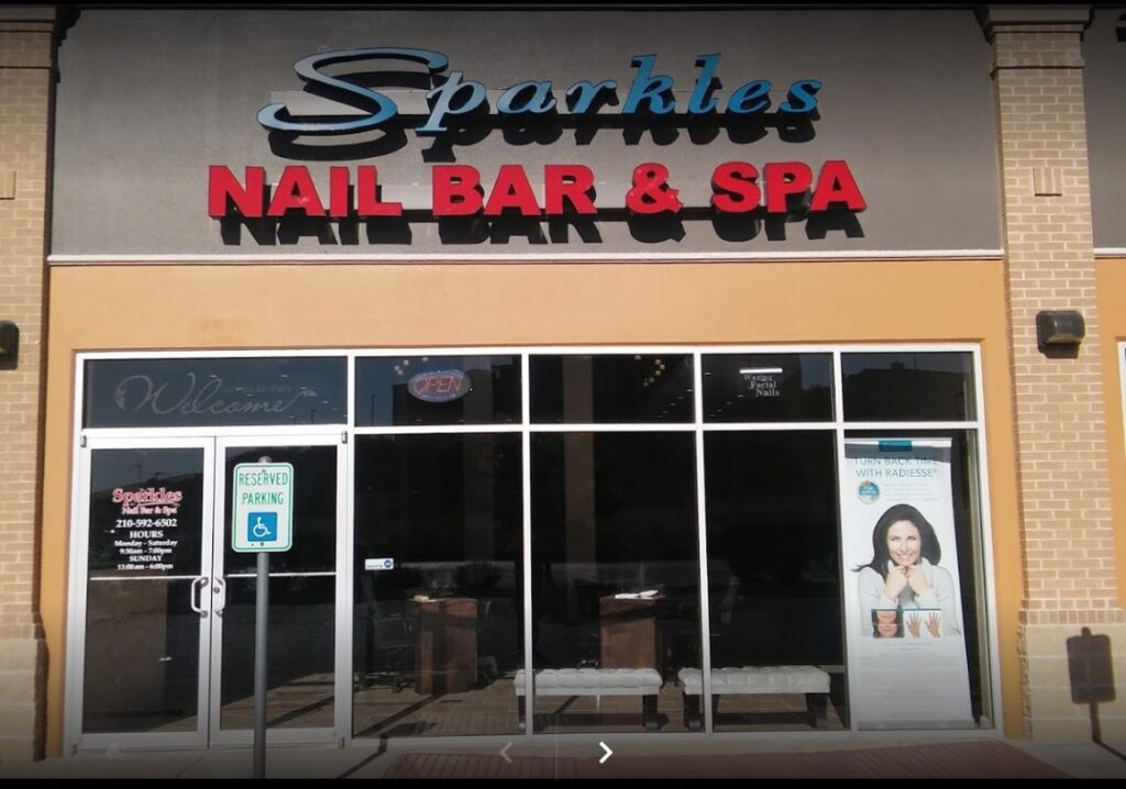 Contact us - Sparkles Nail Bar & Spa, San Antonio TX 78258